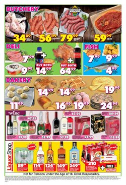 Cake offers in the Shoprite catalogue in Cape Town