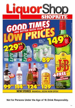 Shoprite deals in the Melmoth special