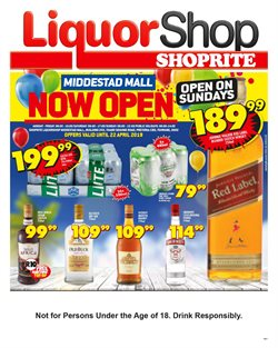Shoprite deals in the Sasolburg special
