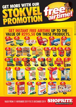 Shoprite deals in the Durban special