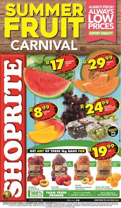 Shoprite deals in the Soweto special