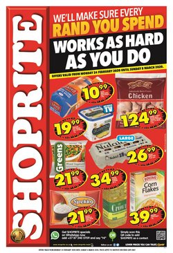 Shoprite catalogue ( 2 days ago)
