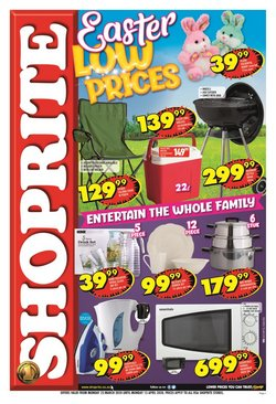 Shoprite catalogue ( 11 days left )