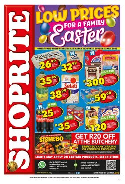 Shoprite catalogue ( 3 days left )