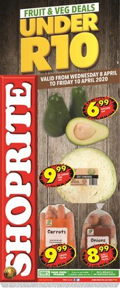 Groceries offers in the Shoprite catalogue in Port Elizabeth ( Expires tomorrow )