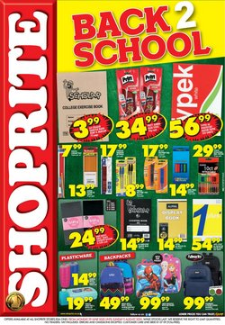 Shoprite catalogue ( More than a month )