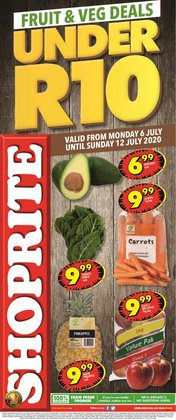 Groceries offers in the Shoprite catalogue in Port Elizabeth ( Published today )