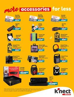 Powerbank specials in Shoprite