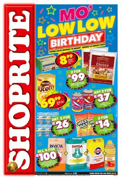 Shoprite catalogue in Port Elizabeth ( Published today )
