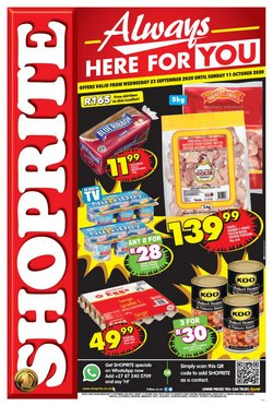 Shoprite catalogue ( 12 days left )