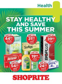 Groceries offers in the Shoprite catalogue ( Published today)