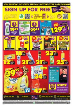 Floors specials in Shoprite