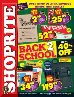 Groceries offers in the Shoprite catalogue in Pretoria ( 23 days left )