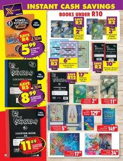 Calendar specials in Shoprite