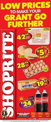 Shoprite catalogue in Cape Town ( Expired )