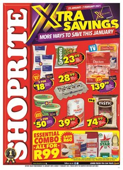 Back to school offers in the Shoprite catalogue ( 11 days left)