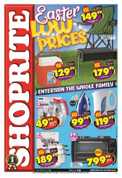 Shoprite catalogue in Cape Town ( Expires today )