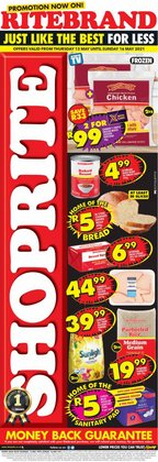 Shoprite offers in the Shoprite catalogue ( Expired)