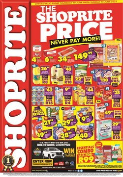 Shoprite offers in the Shoprite catalogue ( Expires tomorrow)