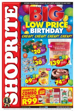 Groceries offers in the Shoprite catalogue ( Expires today)