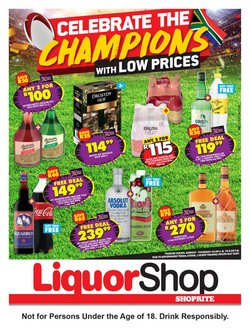 Groceries offers in the Shoprite catalogue ( 5 days left)