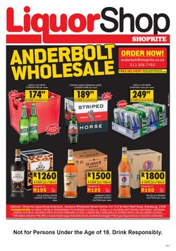 Groceries offers in the Shoprite catalogue ( 9 days left)