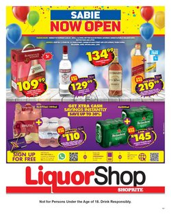 Groceries offers in the Shoprite catalogue ( 15 days left)