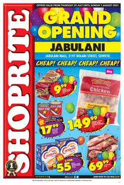 Groceries offers in the Shoprite catalogue ( Expires tomorrow)