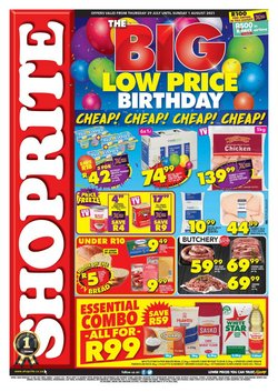 Shoprite catalogue ( Published today)