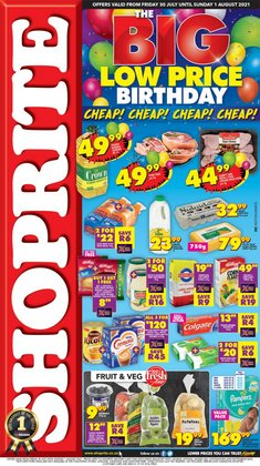 Shoprite catalogue ( Expires tomorrow)