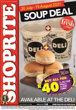 Groceries offers in the Shoprite catalogue ( 13 days left)