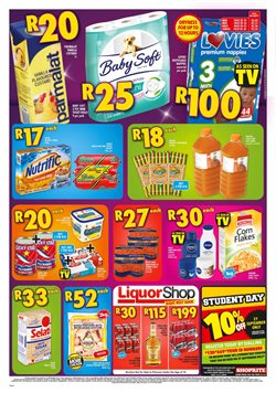 Diapers offers in the Shoprite catalogue in East London