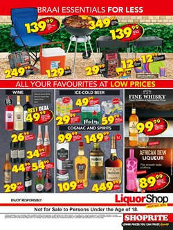 Furniture offers in the Shoprite catalogue in Klerksdorp