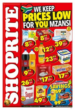 Electronics for children offers in the Shoprite catalogue in Cape Town