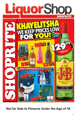 Christmas offers in the Shoprite catalogue in Cape Town