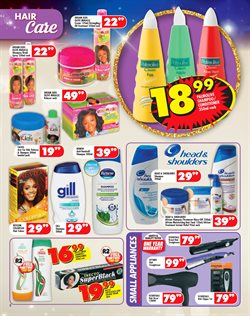 Shampoo offers in the Shoprite catalogue in Klerksdorp