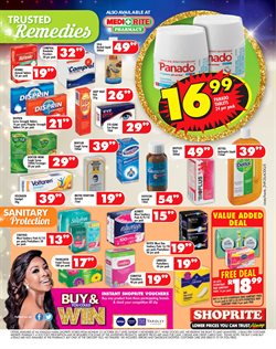 Tablet offers in the Shoprite catalogue in Durban