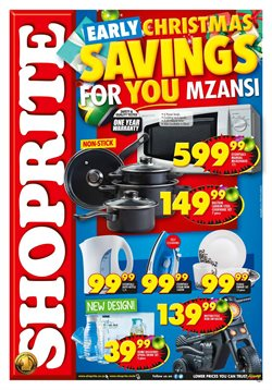 Groceries offers in the Shoprite catalogue in Klerksdorp