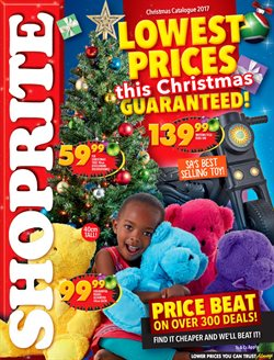 Shoprite deals in the Brackenfell special