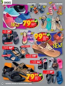Shoes offers in the Shoprite catalogue in Cape Town