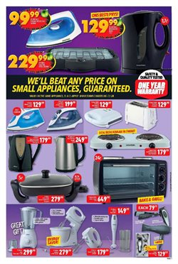Stove offers in the Shoprite catalogue in Cape Town
