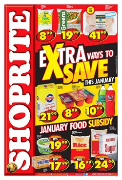 Shoprite deals in the Cape Town special