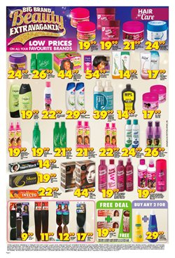 Shampoo offers in the Shoprite catalogue in Cape Town