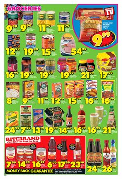 Christmas food offers in the Shoprite catalogue in Cape Town