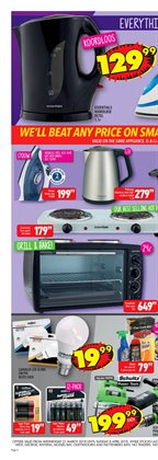 Lamp offers in the Shoprite catalogue in Cape Town