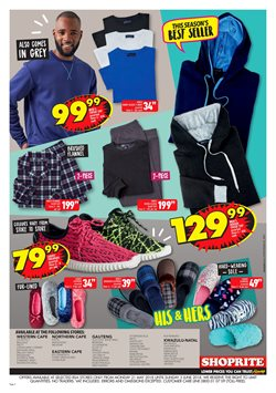 Clothing offers in the Shoprite catalogue in Cape Town