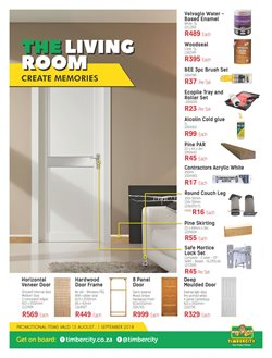 Doors offers in the Timbercity catalogue in Cape Town