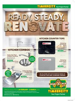 DIY & Garden offers in the Timbercity catalogue in Cape Town