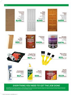 Paint offers in the Timbercity catalogue in Cape Town