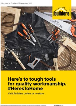 Builders Trade Depot catalogue ( Published today)